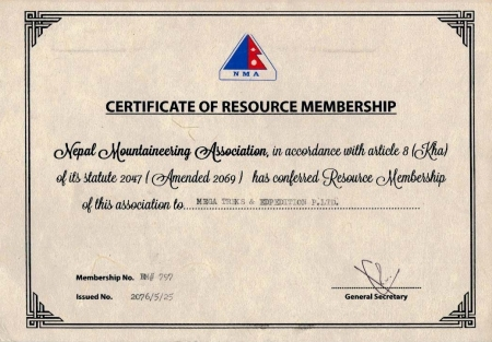 Nepal Mountaineering Association (NMA)  » Click to zoom ->